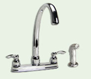 Two Handle Hi Rise Kithcen Faucet